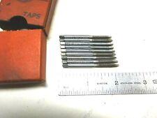 New listing 9 - New Usa Made Card 6-32 Gh3 Hss 2 Flute Gun Taps