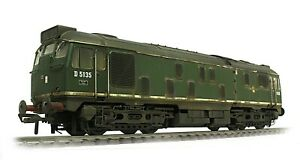 Boxed Bachmann BR Green Class 24 D5135 *WEATHERED LOOK* DCC Ready 21 pin 32-440