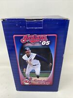 COCO CRISP Cleveland Indians 2005 BOBBLEHEAD SGA BOBBLE HEAD Chief Wahoo Logo
