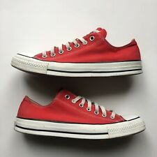 Converse All Star Low Red Unisex Sneakers M9696 US Mens Size 10