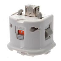 Motion Plus Adapter Sensor White For Nintendo Wii Wii U Remote Controller USA