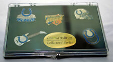 Indianapolis Colts 5 Lapel Pin Collection in Presentation Case