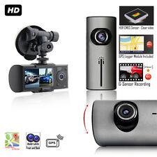 "Indigi DashBoard Car Camera + 2.7"" LCD + Wide Angle Lens + GPS Google Maps Trace"