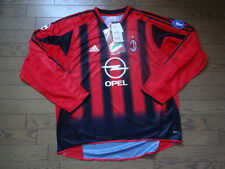 AC Milan 100% Original Jersey Shirt XL 2004/05 CL Home LS Still BNWT NEW Rare