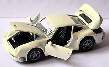 Porsche 959 Coupé 1986-88 blanc blanc 1:43 NZG