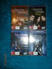 Vampire Diaries Seasons 1 2 3 4 (DVD, 4 x 5-Disc Sets) supernatural TV drama