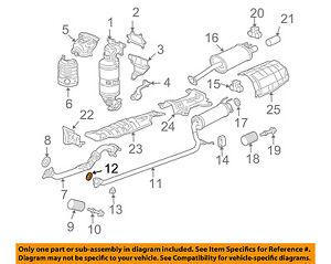 HONDA OEM Exhaust System-Muffler Gasket 18303SM4020