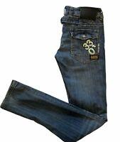 R3301 G-Star Raw Elwood Low Waist Women Skinny Jeans Great Condition Size 29