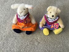 Muffy Vanderbear Checkmates Muffy And Hoppy New Nabco w/tags