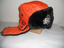 SF Giants SGA 4/27/2018 60th Anniversary BEAT LA OR NOT Two Flaps Down Cap hat