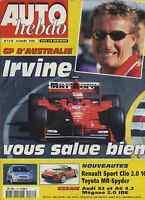 AUTO HEBDO n°1178 du 10 Mars 1999B GP AUSTRALIE AUDI S3 & A6 4.2 MEGANE 2.0 IDE