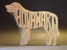 New Hovawart Dog Amish Wood Puzzle Toy Hand Made Usa Figurine Art