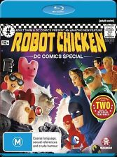 Robot Chicken - DC Comics Special (Blu-ray, 2013) Region Free