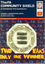 FA COMMUNITY SHIELD 2004: Arsenal v Man Utd