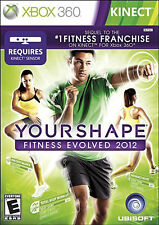 Your Shape: Fitness Evolved 2012 (Microsoft Xbox 360, 2011) Complete  Fast Shipp