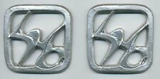 Star Trek Klingon Warrior Sleeve/Lower Arm Glyphs Set - Silver