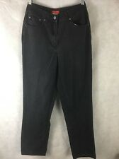 """Womens ESPRIT  Black High Waist Cotton Jeans Size 5/6 Inseam 29.5"""" Waist 27"""""""