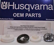 Husqvarna 585530301  545008087 Starter Pulley Spring Kit 128C 128L 128LD 128LD