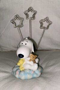 Baby Snoopy Photo/Picture Holder ~ Hallmark Studio B