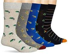Men's 5-Pack Patterned Socks, Amphibian Pack, Size One Size Ocfr