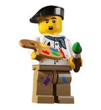Lego Figurine Minifig Serie 4 - Le peintre Neuf / Artist Series 4 NEW