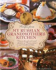 recettes de My russe grand-mère cuisine par Elena makhonko Livre relié