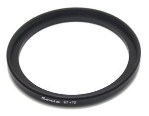 Metal Step Up Ring 67mm to 72mm 67-72 Sonia New