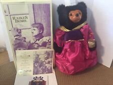 Raikes Bears - The Royal Court - Queen Mary w/ COA & Original Box - Signed
