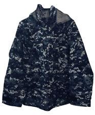 Valley Apparel US NAVY Issue GORE-TEX Parka Jacket Size Small Reg Digital Blue