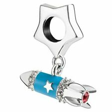 Chamilia SHOOT FOR THE STARS ROCKET Sterling Silver Charm LTD EDITION