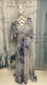 Free People~Chrysanthemum Tie-dye Boho Dress~Size Small