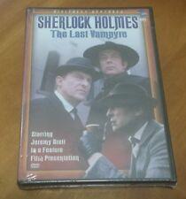 Sherlock Holmes: The Last Vampyre DVD vampire Jeremy Brett mystery feature film