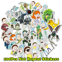 100Pcs Cartoon Pvc Waterproof Sticker For Luggage Skateboard