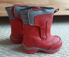 Lands End Snow Boots Toddler 8M, EUC!