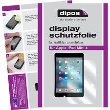 2x Apple iPad Mini 4 Schutzfolie klar Displayschutzfolie Folie dipos