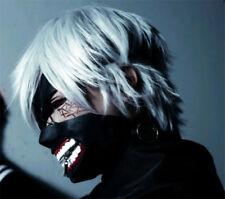 Tokyo Ghoul Ken Kaneki Mask Japanese Anime Cosplay Costume Accessory Prop Mask