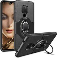 Huawei Mate 20 Ultra Slim ShockproofCover Case Black Ring Holder Protective