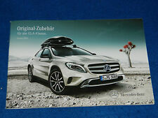 PHOTOS PUBLICITE accessoires ORIGINAL zubehör accessories MERCEDES GLA Klasse