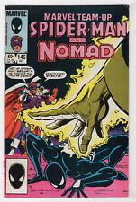 Marvel Team-Up #146 (Oct 1984, Marvel) Venom Costume [Spider-Man, Nomad] v