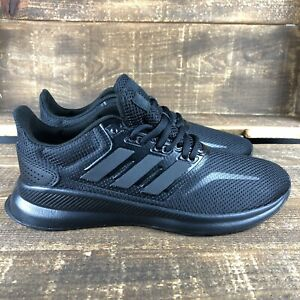 NEW Women's Adidas Runfalcon Triple Black Athletic Shoes Fits a Size 6