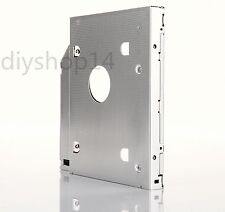 2nd SATA HDD SSD Hard Drive Caddy Adapter Bay for Dell alienware M15X swap CA10N