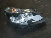 Renault Clio MK3 Front Headlight Black Backing Driver side
