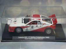 1/32 SLOT CAR LANCIA 037 RALLYE CATALUNYA 1985 NICE SIDEWINDER  FRONT LIGHTS WRC