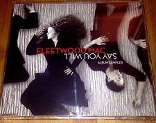 "FLEETWOOD MAC ""SAY YOU WILL"" RARE ALBUM SAMPLER UK PROMO 4 TRACK CD STEVIE NICKS"
