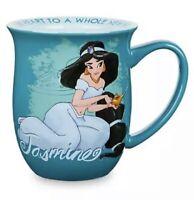 DISNEY STORE JASMINE 16 OZ Coffee Tea Story Mug New ALADDIN