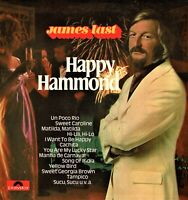 "JAMES LAST Happy Hammond 10 Melodies 12"" Vinyl LP Album Polydor HA"