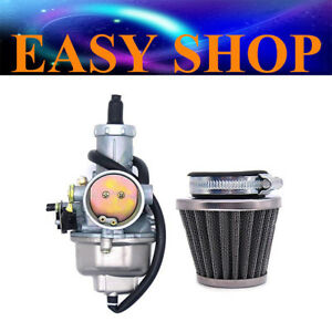 PZ30mm Carby Carburetor Air Filter 150cc 250cc 300cc ATV QUAD PIT PRO DIRT BIKE