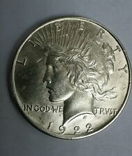 1922 PEACE LIBERTY ONE DOLLAR.'' VERY GOOD CONDITION ''