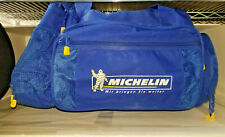 Michelin Man German travel carry on duffle bag 6 ext pockets heavy duty rare