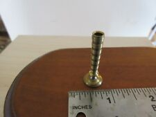 Miniature Dollhouse Brass Candle stick   1:12 scale